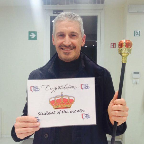 Aldo Toscani - Studente del mese Novembre-Dicembre 2017