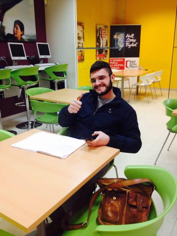 Marino Liotine esprime la sua opinione su wall street english bari