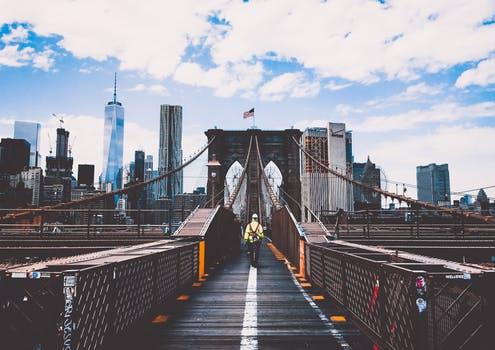 foto di new york su post che riguarda il lavoro all'estero se si conosce l'inglese
