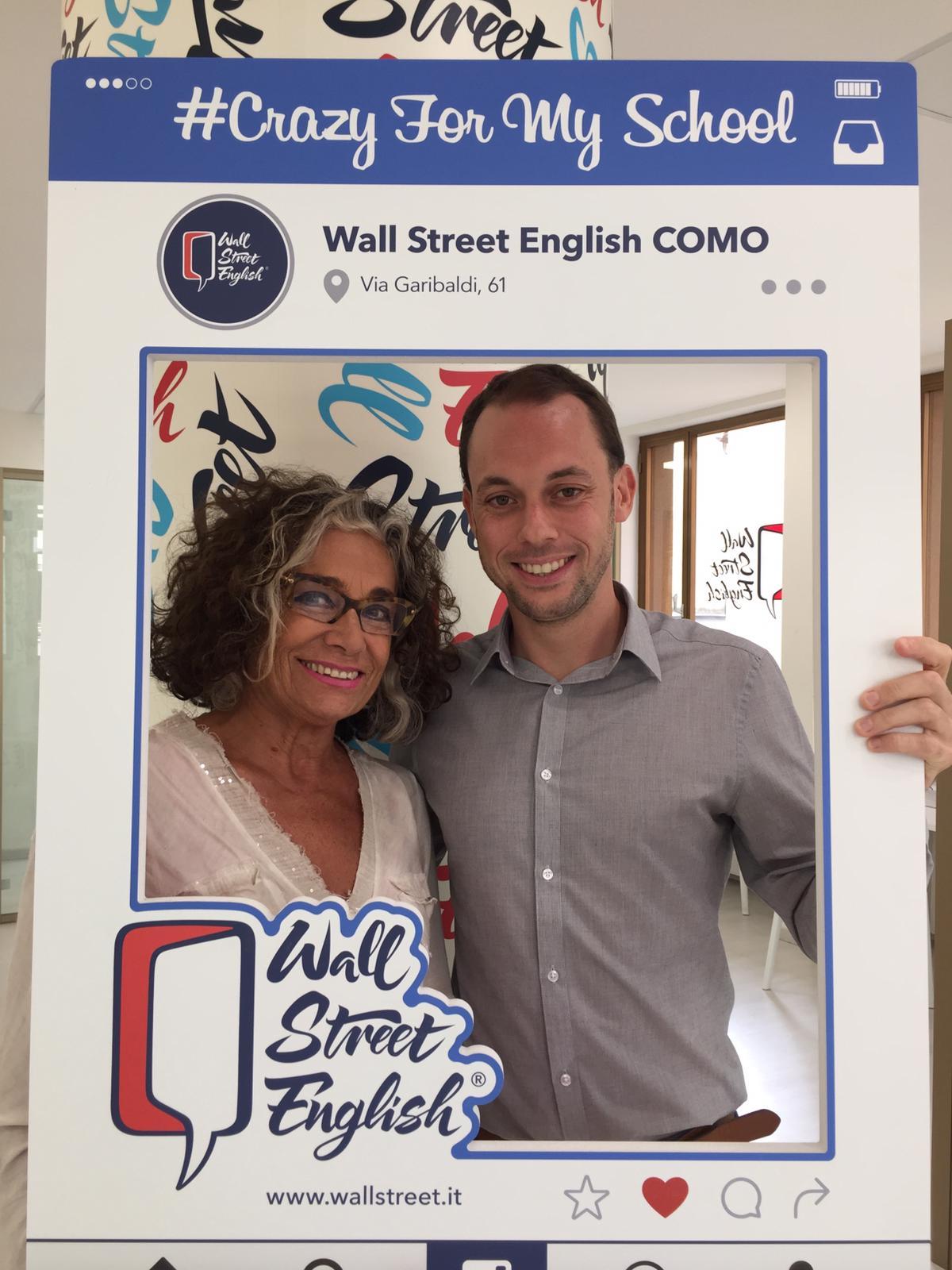 elena ferrini esprime la sua opinione su wall street english como